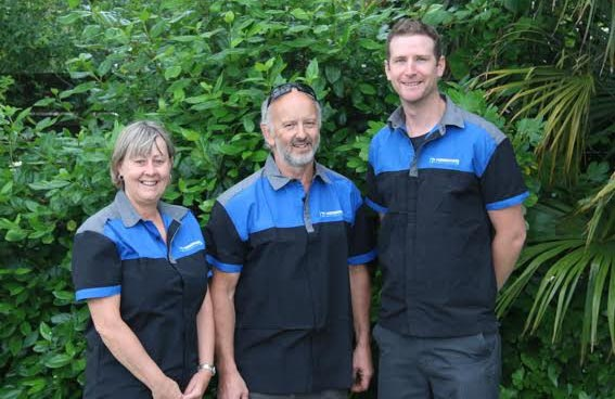 The Hodgkiss Refrigeration Team!